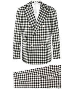 Gabriele Pasini   Checked Suit 50 Nylon/Spandex/Elastane/Viscose/Wool
