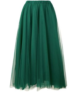 Rochas | Pleated A-Line Skirt 46