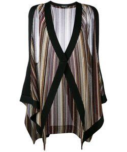 Balmain | Striped Sleeveless Cardigan