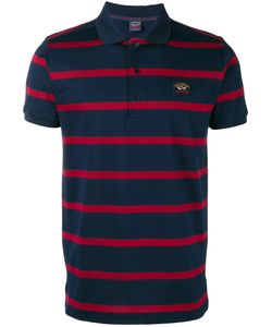 Paul & Shark | Striped Polo Shirt Medium