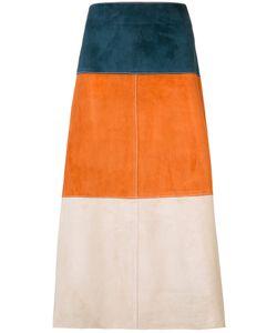 Derek Lam | Stripe Panel Skirt
