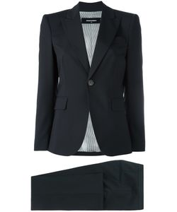 DSquared² | Three-Piece Suit 42 Virgin Wool/Spandex/Elastane/Polyester