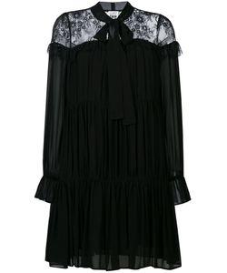 Twin-Set | Lace Panel Swing Dress