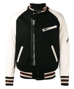Coach   Panelled Bomber Jacket Size 48