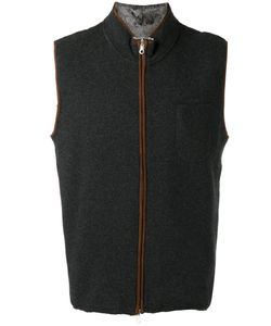N.Peal | Zip Up Gilet Size Large