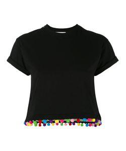 Forte Couture | Pom Pom Trim T-Shirt