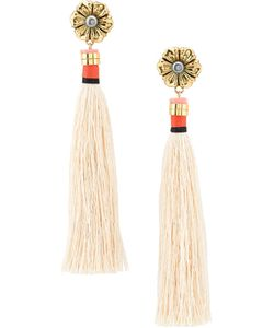 Lizzie Fortunato Jewels | Tahitian Tassel Earrings