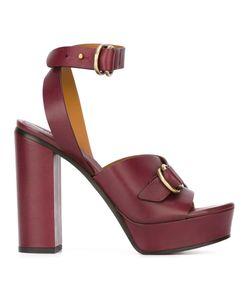 Chloé | Buckled Platform Sandals 39.5