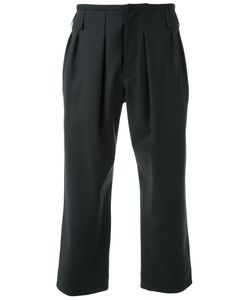 Fad Three | Cropped Tailored Trousers Medium