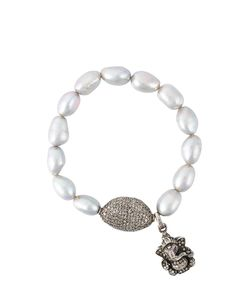 Loree Rodkin | Diamond Charm Bead Bracelet