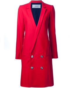 Julien David | Low Double-Breasted Buttons Coat Women Small