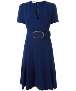 Stella McCartney | Keyhole Detail Belted Dress