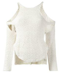 Eckhaus Latta | Cut Out Knit Sweater