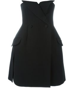 Christian Dior Vintage | Strapless Tuxedo Dress