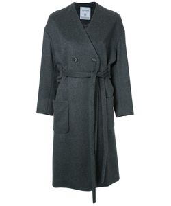 Fad Three | Collarless Trench Coat Small