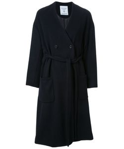 Fad Three   Collarless Trench Coat