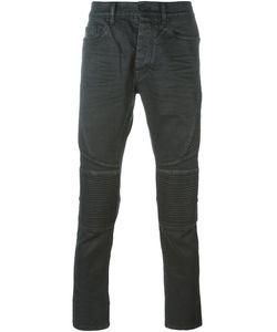 Marcelo Burlon County Of Milan   Slim Fit Biker Jeans