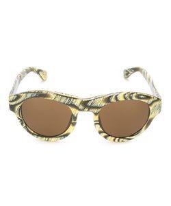 Linda Farrow Gallery | Angular Frame Sunglasses