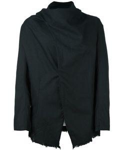 Army Of Me | Frayed Hem Asymmetrical Jacket
