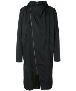 Army Of Me   Asymmetrical Zipper Coat