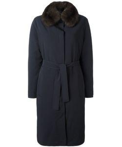 Liska   Squirrel Fur Lined Coat Small