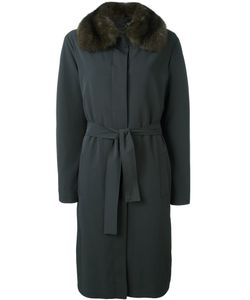 Liska   Sable Fur Collar Coat Large