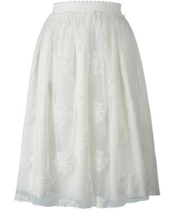 Blugirl | Embroidered Tulle Skirt