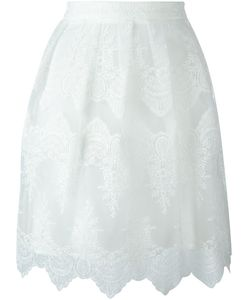Blugirl | Embroidered Short Skirt