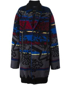 Sibling | Basquiat Fair Isle Coat