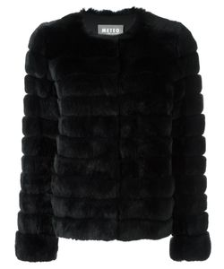 Meteo By Yves Salomon | Cropped Padded Fur Jacket