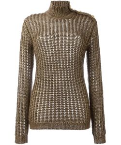 Balmain | Ribbed Open Knit Jumper