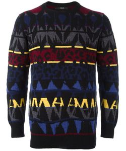 Sibling | Basquiat Fair Isle Jumper