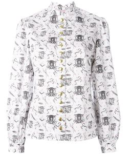 Olympia Le-Tan | Printed Shirt