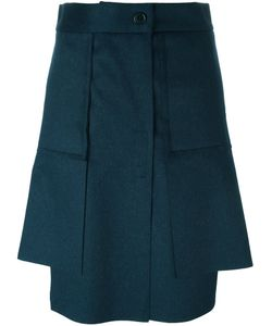 Vivienne Westwood Red Label | Asymmetric Pleated Short Skirt