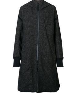 Ziggy Chen | Hooded Rear Patch Coat