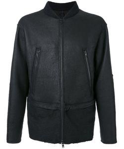 Isabel Benenato   Leather Bomber Jacket 48