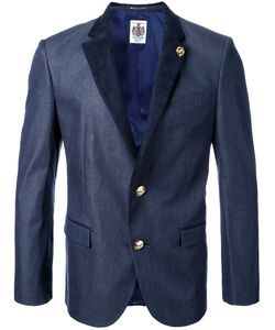 Education From Youngmachines | Peaked Lapels Blazer 1