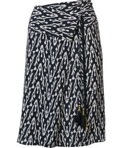 Figue | Kloe Ikat Print Wrap Skirt