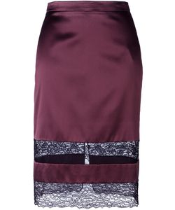 Givenchy | Lace Panel Pencil Skirt
