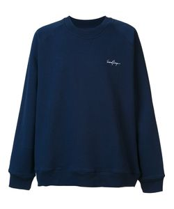 Second/Layer | Embroidered Chest Logo Sweatshirt