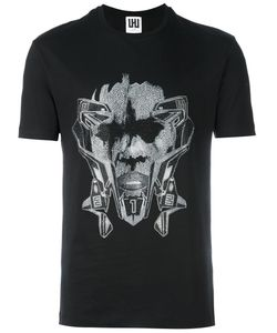 Les Hommes Urban | Graphic Print T-Shirt
