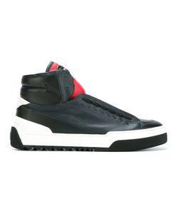 Fendi | Appliqué Face Hi-Top Sneakers 6