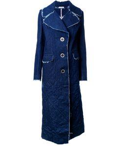 Natasha Zinko | Denim Single Breasted Coat