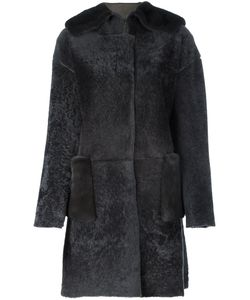 Manzoni 24 | Fur-Trimmed Shearling Coat