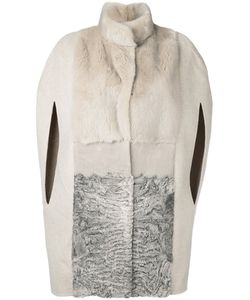 Manzoni 24 | Cape Sleeve Fur Coat