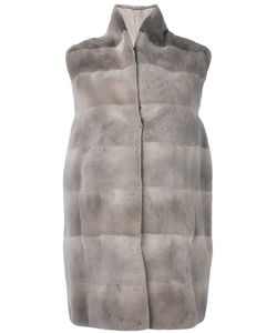Manzoni 24 | High Neck Sleeveless Coat