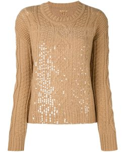 Peter Jensen | Cable Knit Sequinned Jumper