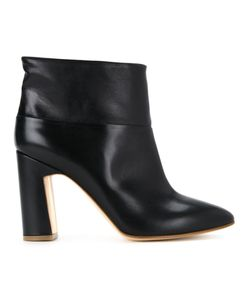 Rupert Sanderson | Pointed Toe Ankle Boots 37.5 Calf