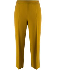 Odeeh | Flared Cropped Trousers
