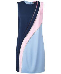 Versace | Crystal-Mesh Colour Block Dress Size 40